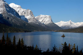 St Mary's Lake in Glacier National Park